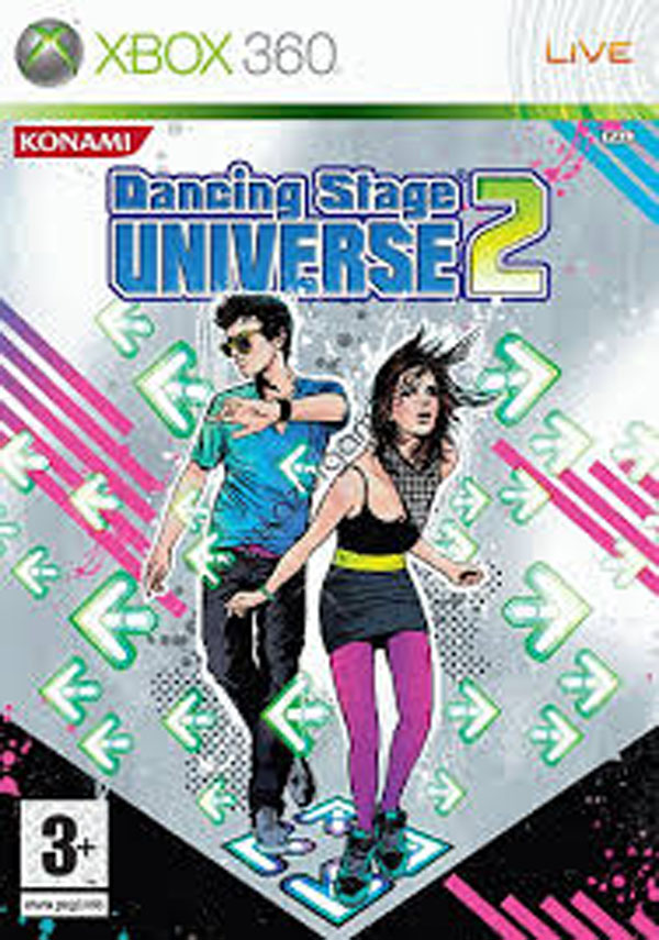 Dancing Stage Universe 2 Video Game Back Title by WonderClub