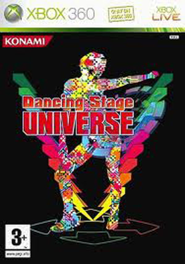 Dancing Stage Universe Video Game Back Title by WonderClub