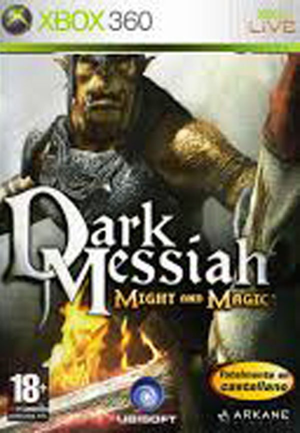 Dark Messiah Of Might And Magic Video Game Back Title by WonderClub