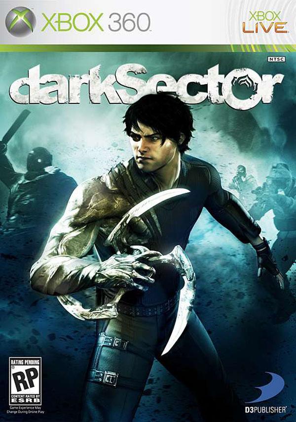Dark Sector Video Game Back Title by WonderClub