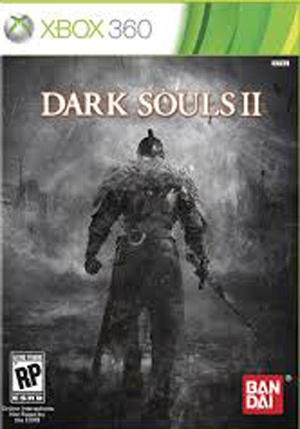 Dark Souls II Video Game Back Title by WonderClub