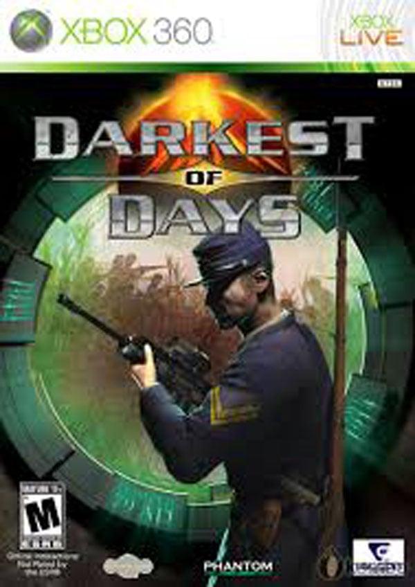 Darkest Of Days Video Game Back Title by WonderClub