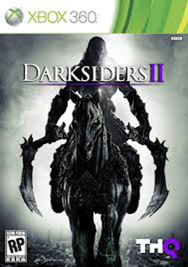 Darksiders II Video Game Back Title by WonderClub