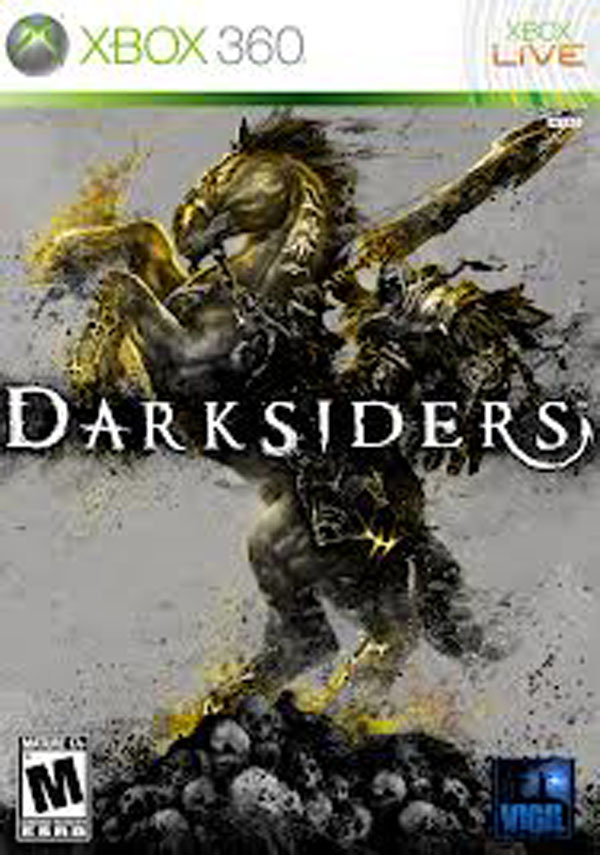 Darksiders Video Game Back Title by WonderClub
