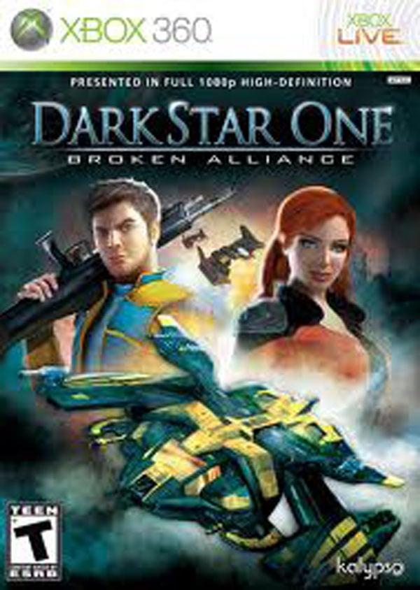 DarkStar One Video Game Back Title by WonderClub