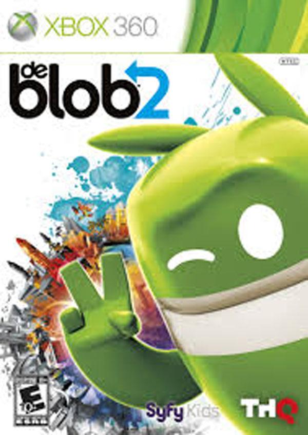 De Blob 2 Video Game Back Title by WonderClub