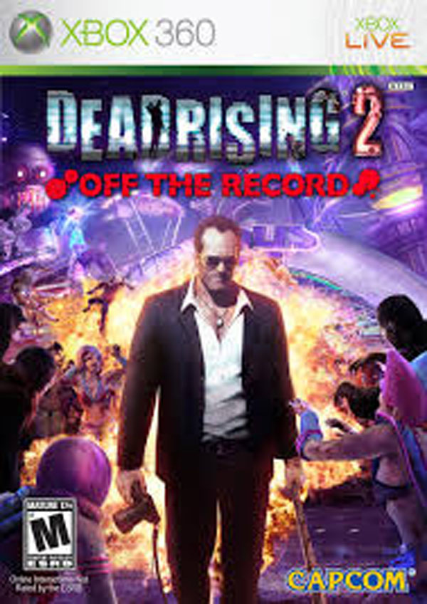 Dead Rising 2: Off The Record Video Game Back Title by WonderClub