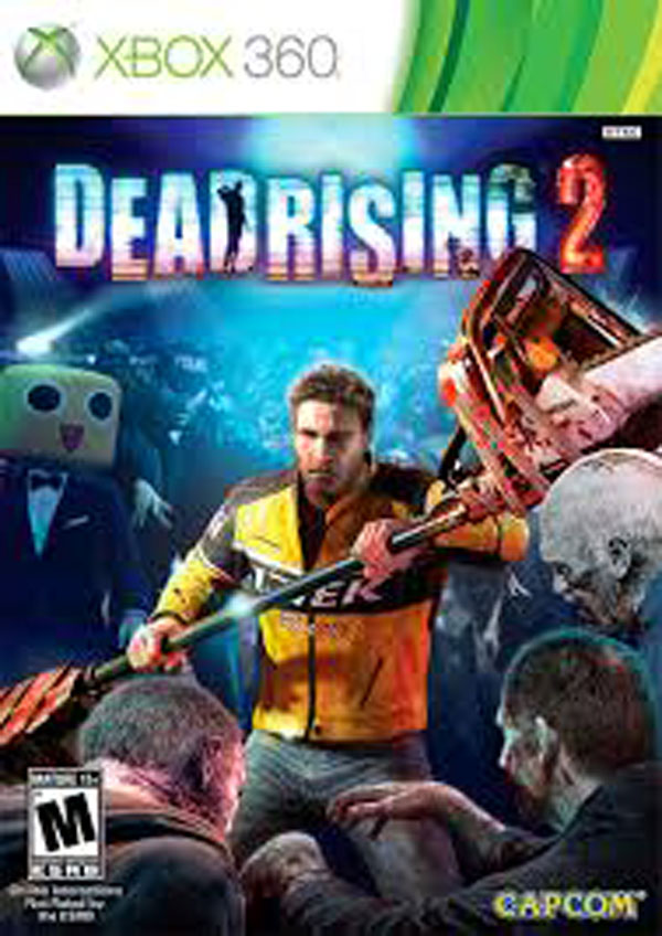 Dead Rising 2 Video Game Back Title by WonderClub