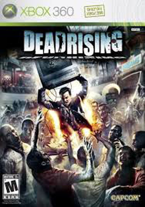 Dead Rising Video Game Back Title by WonderClub