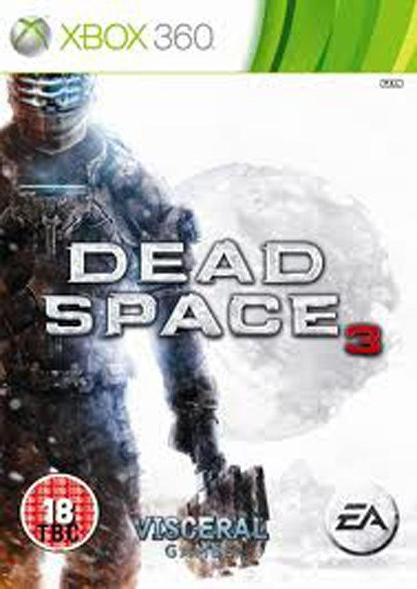 Dead Space 3 Video Game Back Title by WonderClub