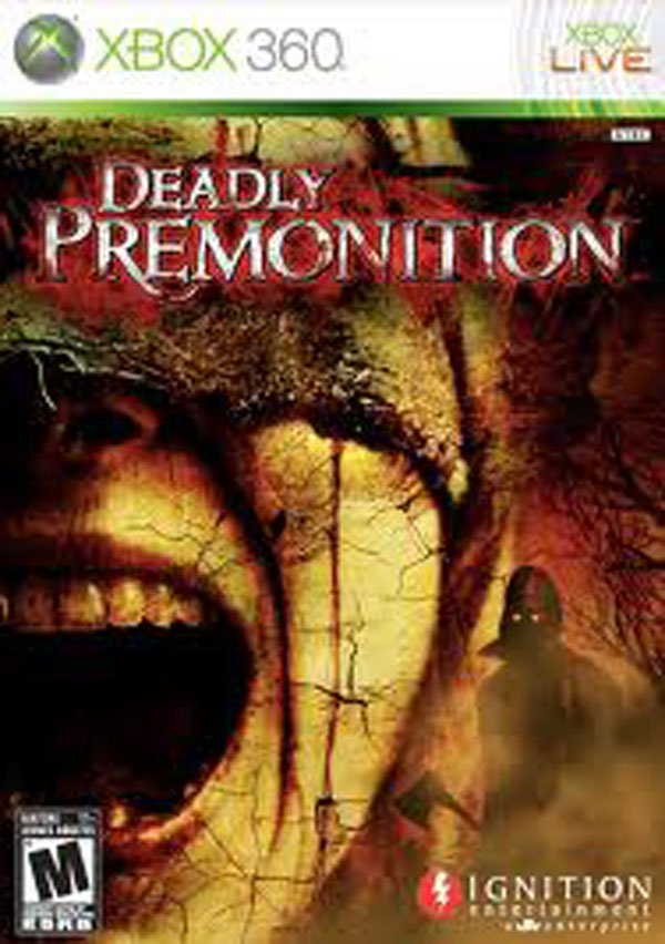 Deadly Premonition Video Game Back Title by WonderClub