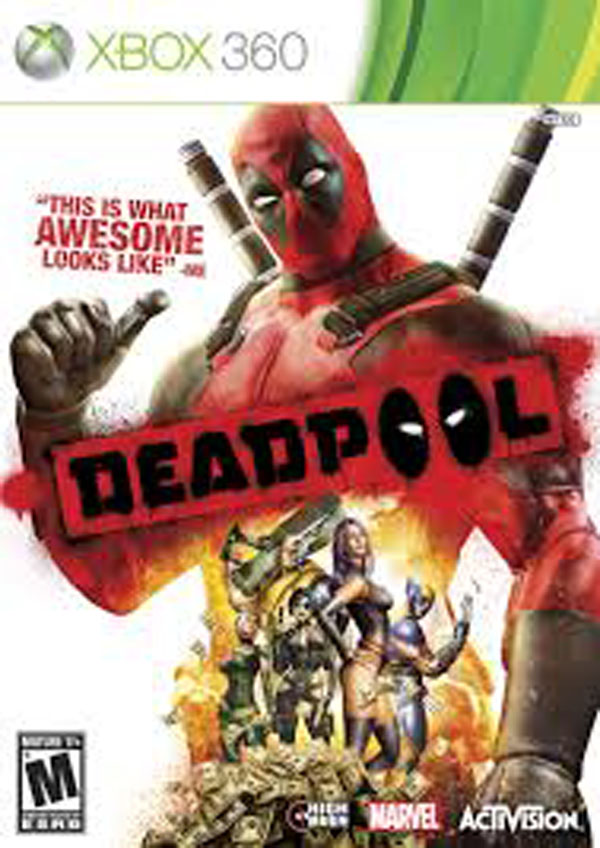Deadpool  Video Game Back Title by WonderClub