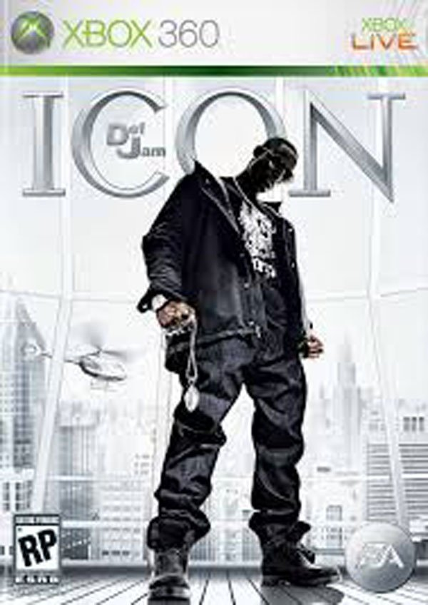 Def Jam: Icon Video Game Back Title by WonderClub