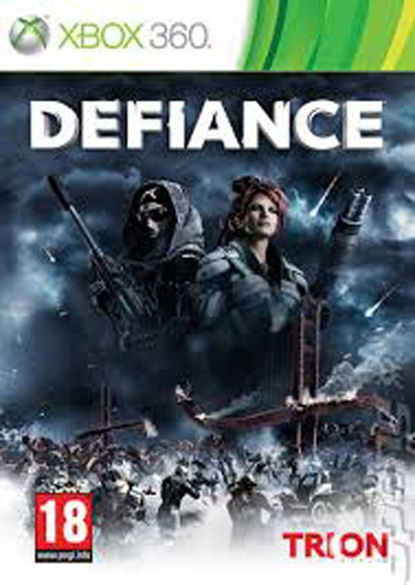 Defiance Video Game Back Title by WonderClub