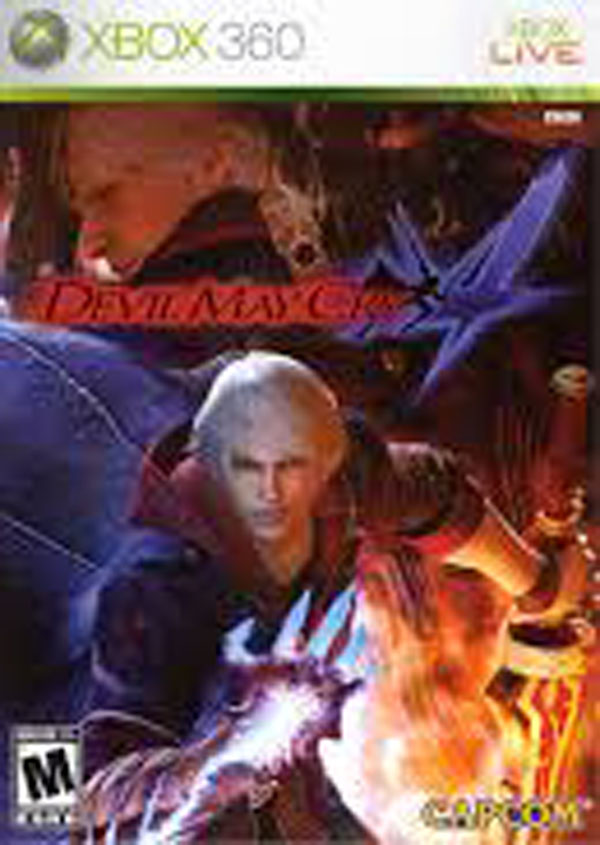 Devil May Cry 4 Video Game Back Title by WonderClub