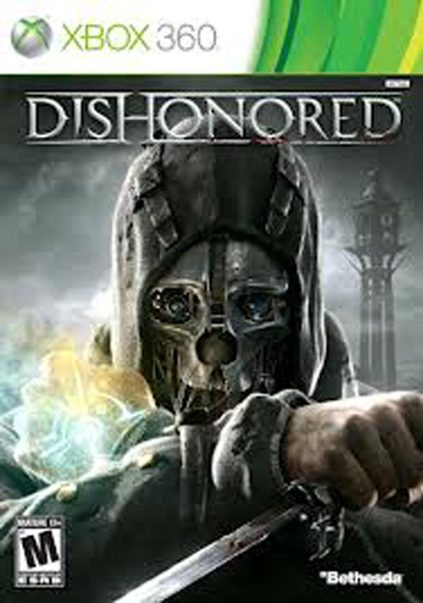 Dishonored Video Game Back Title by WonderClub
