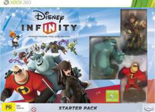 Disney Infinity Video Game Back Title by WonderClub
