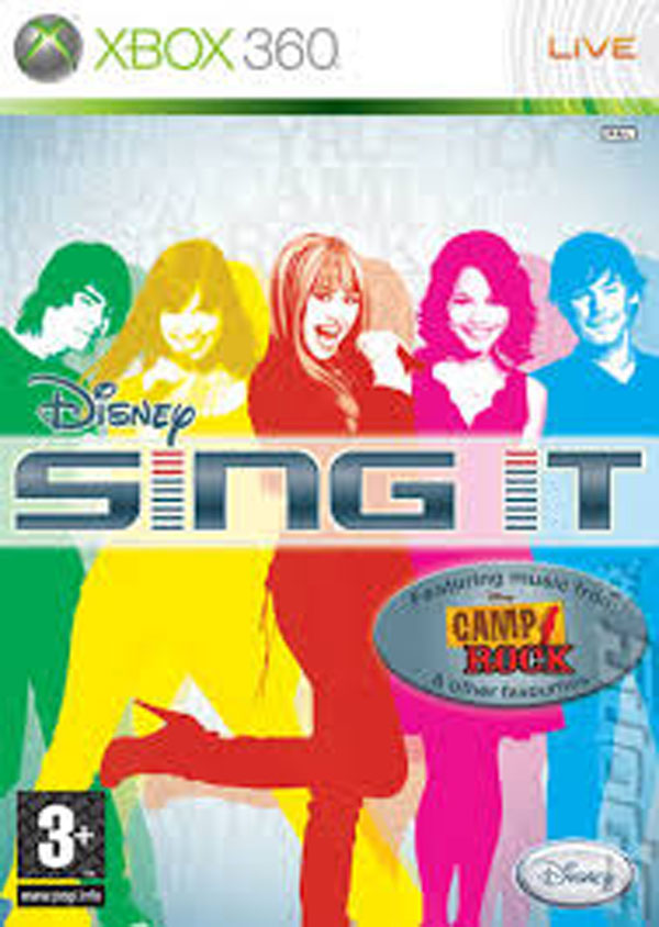 Disney Sing It Video Game Back Title by WonderClub