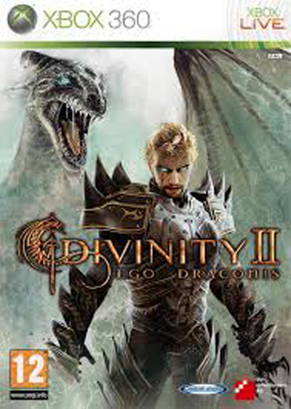 Divinity II Video Game Back Title by WonderClub