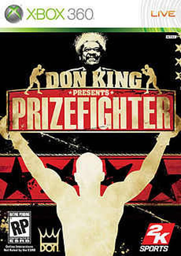 Don King Presents: Prizefighter Video Game Back Title by WonderClub