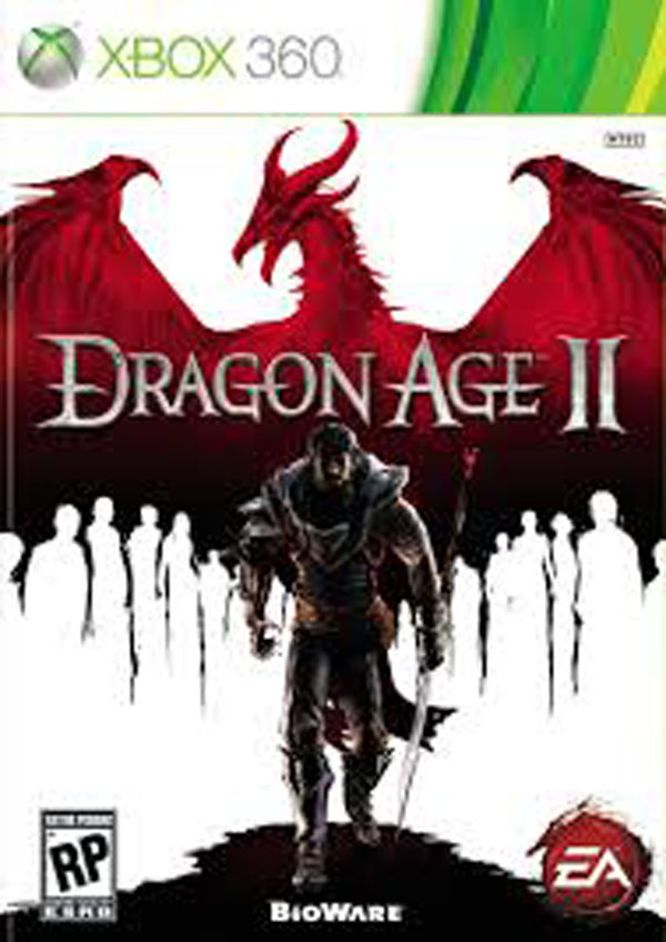 Dragon Age II Video Game Back Title by WonderClub