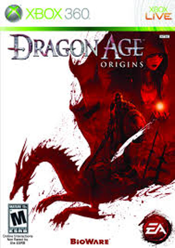 Dragon Age: Origins Video Game Back Title by WonderClub