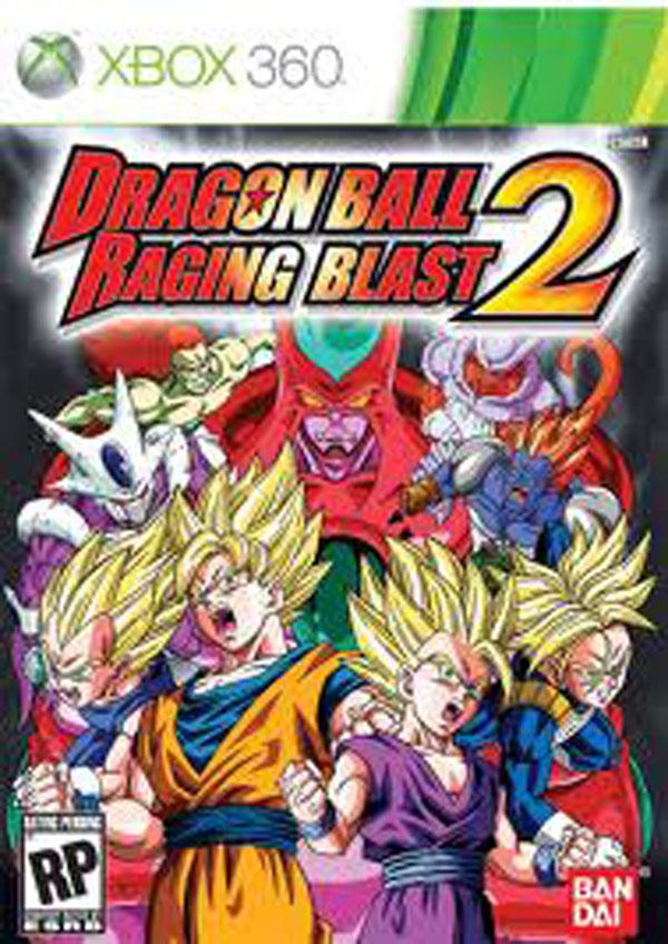 Dragon Ball: Raging Blast 2 Video Game Back Title by WonderClub