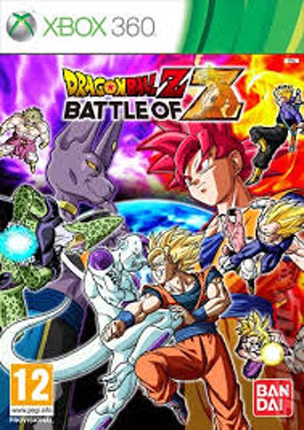 Dragon Ball Z: Battle Of Z Video Game Back Title by WonderClub