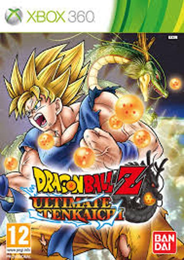 Dragon Ball Z: Ultimate Tenkaichi Video Game Back Title by WonderClub