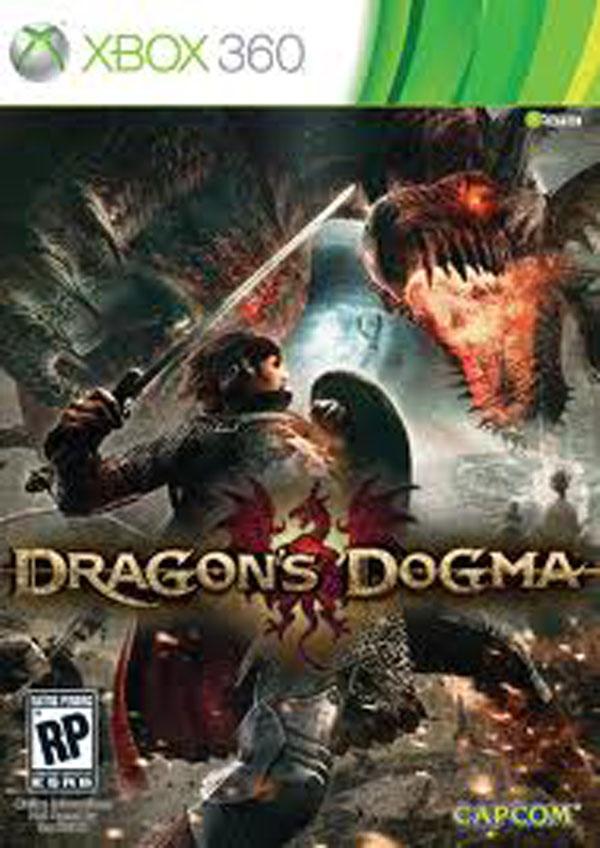 Dragon's Dogma Video Game Back Title by WonderClub
