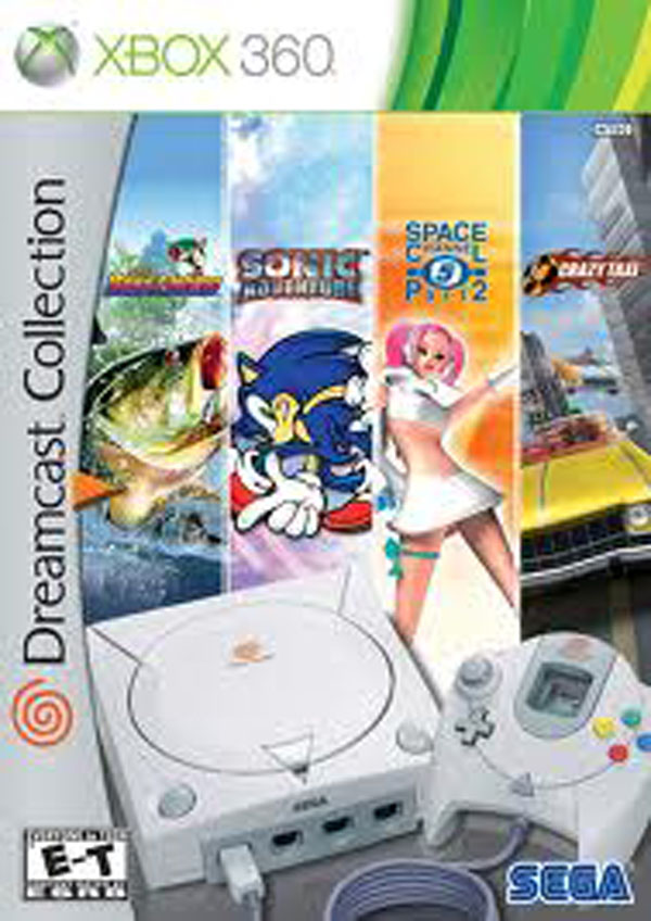 Dreamcast Collection Video Game Back Title by WonderClub