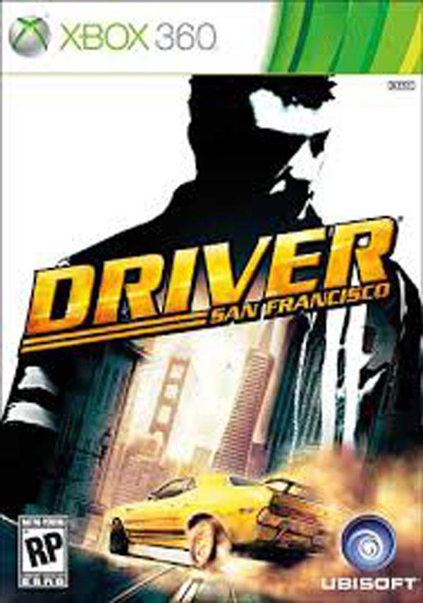 Driver: San Francisco Video Game Back Title by WonderClub
