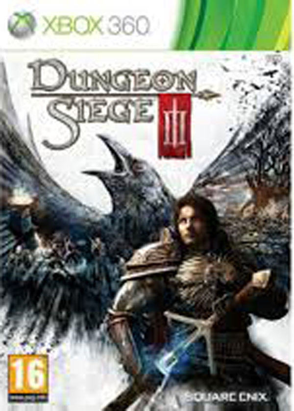 Dungeon Siege III Video Game Back Title by WonderClub