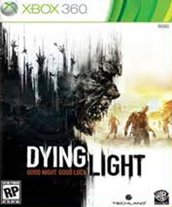 Dying Light Video Game Back Title by WonderClub