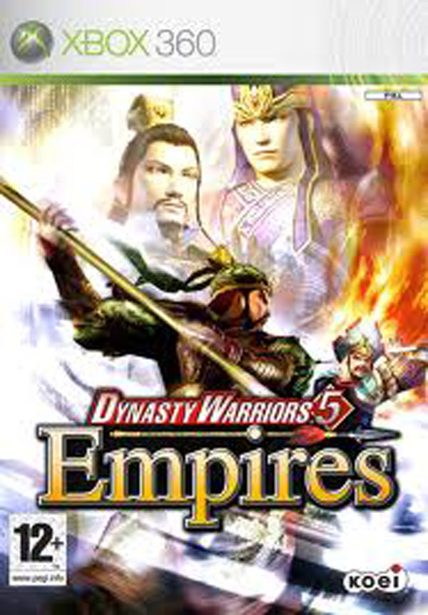 Dynasty Warriors 5 Video Game Back Title by WonderClub