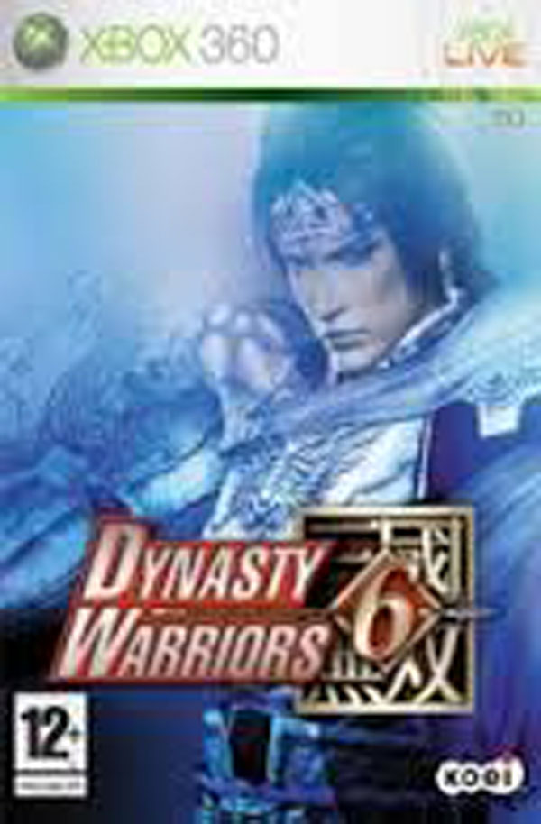 Dynasty Warriors 6 Video Game Back Title by WonderClub