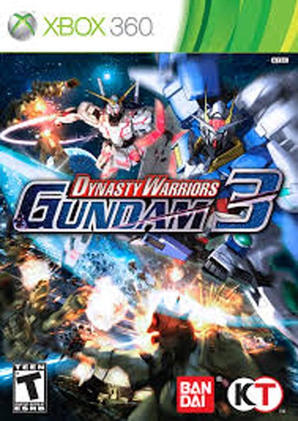 Dynasty Warriors: Gundam 3 Video Game Back Title by WonderClub