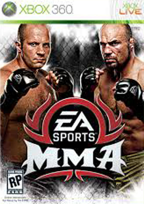 EA Sports MMA Video Game Back Title by WonderClub