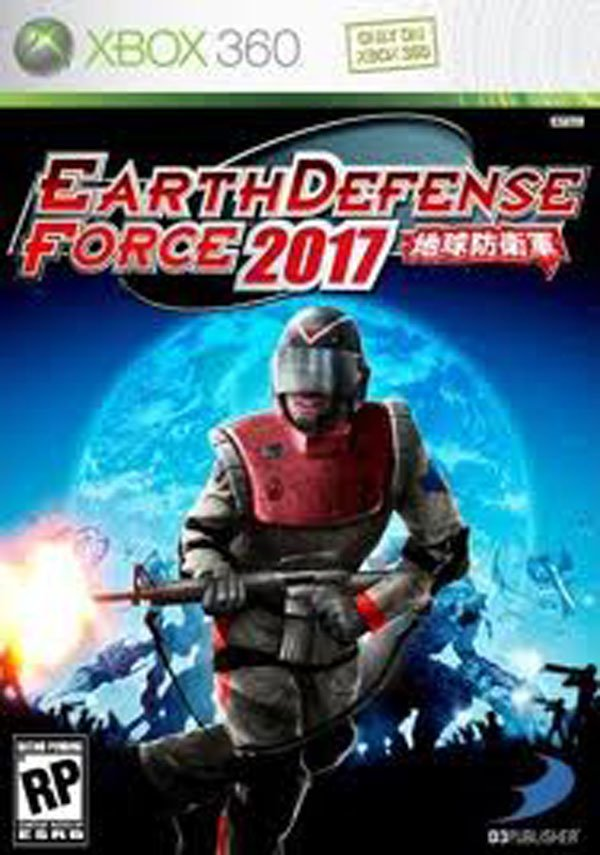 Earth Defense Force 2017 Video Game Back Title by WonderClub