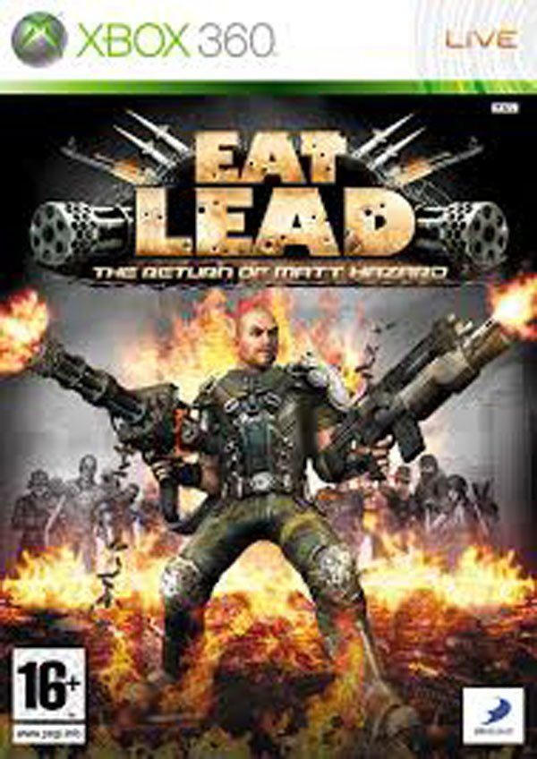 Eat Lead: The Return Of Matt Hazard Video Game Back Title by WonderClub