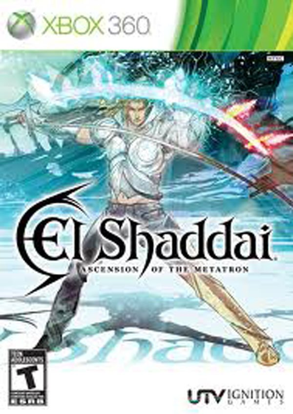 El Shaddai: Ascension Of The Metatron Video Game Back Title by WonderClub