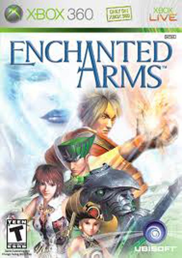 Enchanted Arms Video Game Back Title by WonderClub