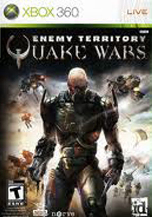 Enemy Territory: Quake Wars Video Game Back Title by WonderClub
