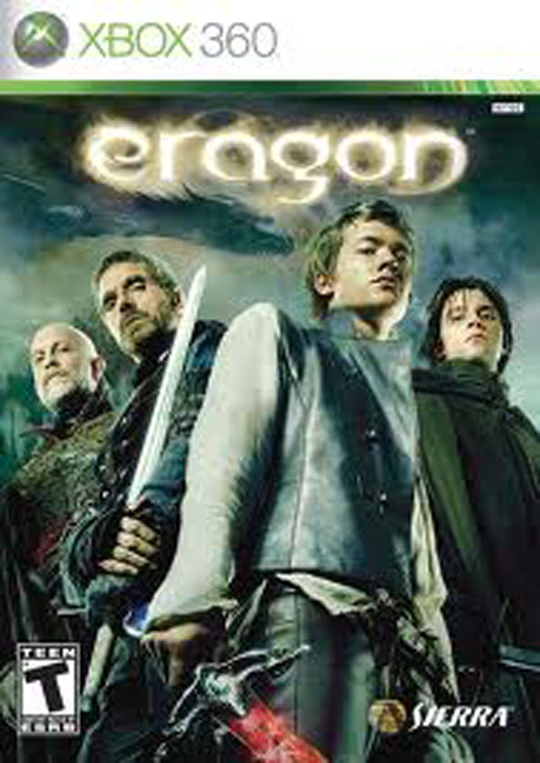Eragon  Video Game Back Title by WonderClub