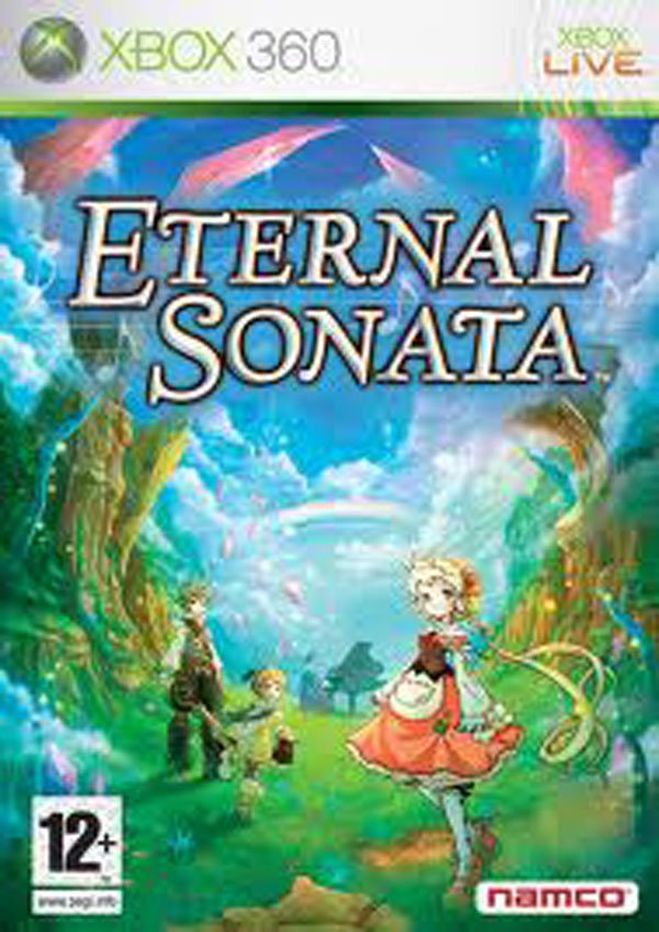 Eternal Sonata Video Game Back Title by WonderClub