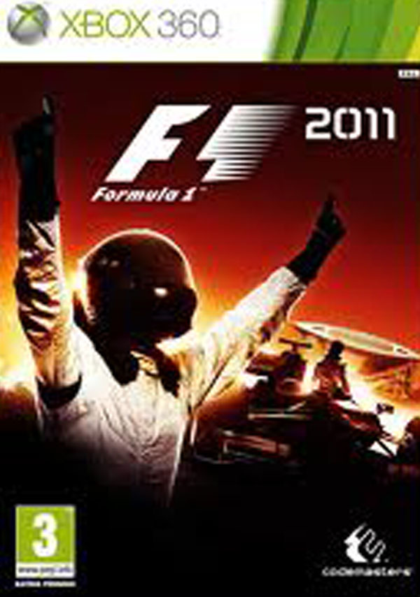 F1 2011 Video Game Back Title by WonderClub