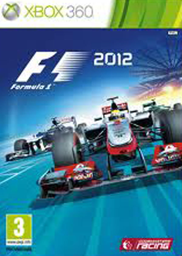 F1 2012  Video Game Back Title by WonderClub