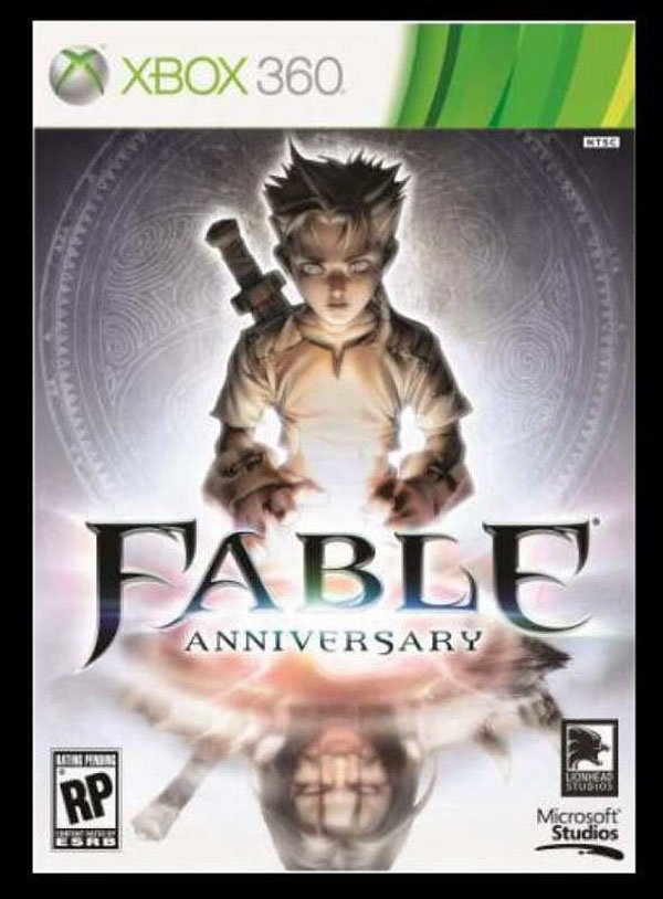 Fable  Video Game Back Title by WonderClub