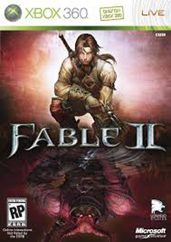Fable II Video Game Back Title by WonderClub