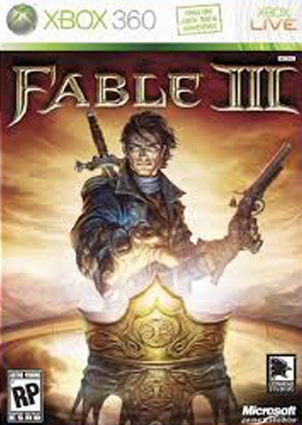 Fable III Video Game Back Title by WonderClub